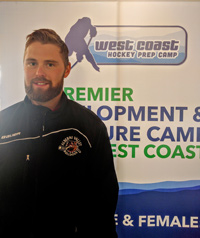 Alberni Valley Bulldogs Coach at West Coast Prep Camp