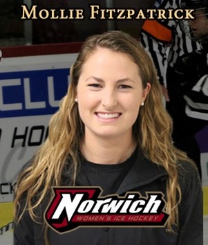 Coach Profile: Mollie Fitzpatrick, Norwich University, Week 1 West Coast Hockey Prep Camp