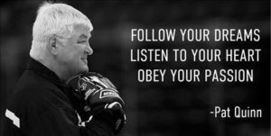 pat quinn image and quote
